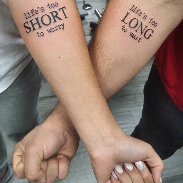 Who gets couples tattoos